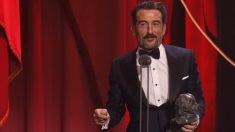 Luis Zahera, premio a mejor actor de reparto por el Reino en los Goya 2019