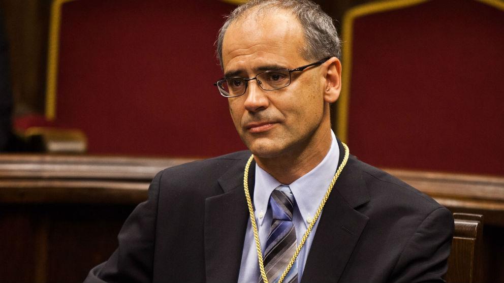 El jefe del Gobierno de Andorra, Antoni Martí Petit.