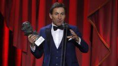 Antonio de la Torre, mejor actor protagonista por 'El reino' en los Premios Goya 2019.