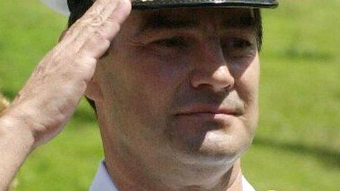 Carlos Molina Tamayo, durante su etapa como contralmirante de la Armada Nacional de Venezuela.