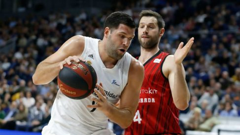 Felipe Reyes, en un partido de la presente temporada. (ACB)