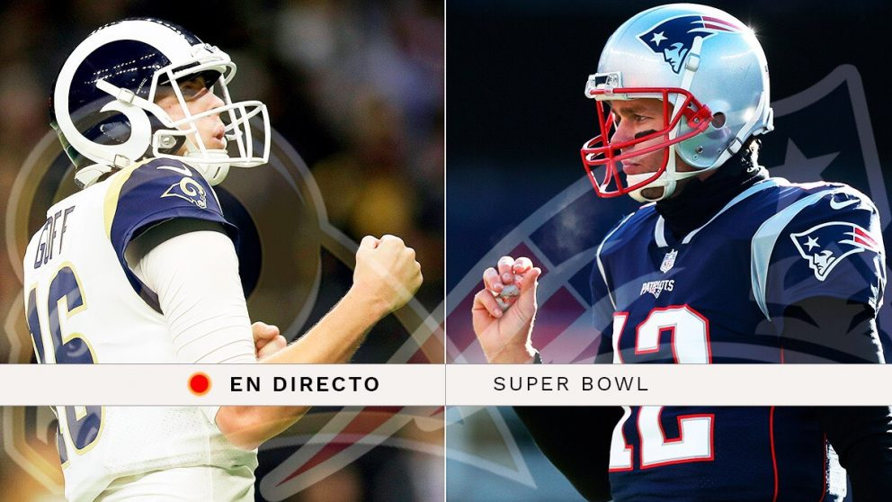 Super Bowl 2019, en directo: Patriots Vs Rams.