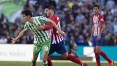 Liga Santander: Betis – Atlético de Madrid  Partido de hoy de La Liga, en directo.