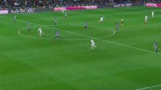 No hay fuera de juego de Benzema.