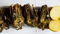 Receta de alcachofas fritas