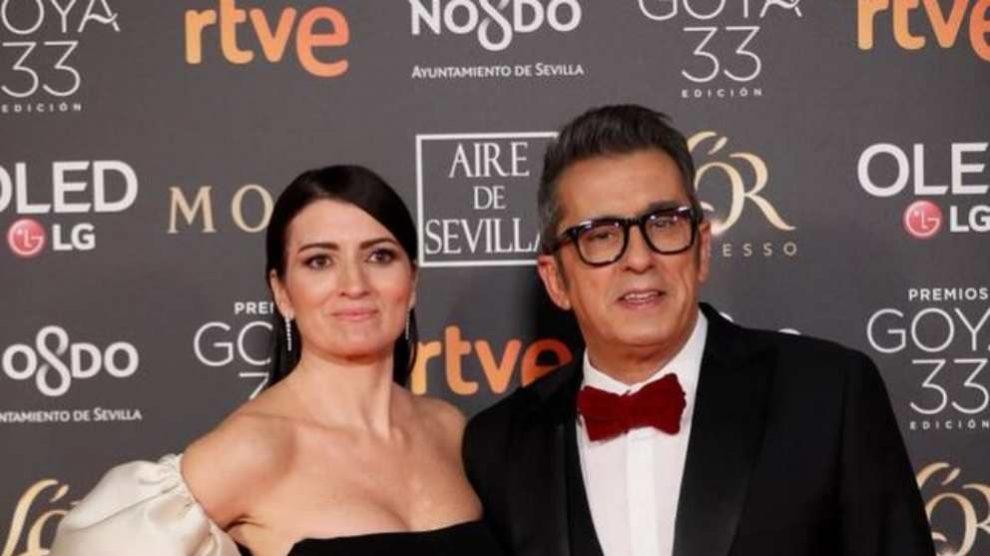 Silvia Abril y Andreu Buenafuente, en los Premios Goya 2019