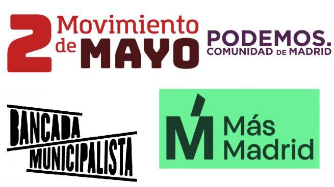 Nueva escisión de Podemos Madrid: registran el partido Movimiento 2 de Mayo
