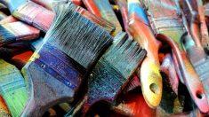 Consejos para pintar un pañuelo de seda