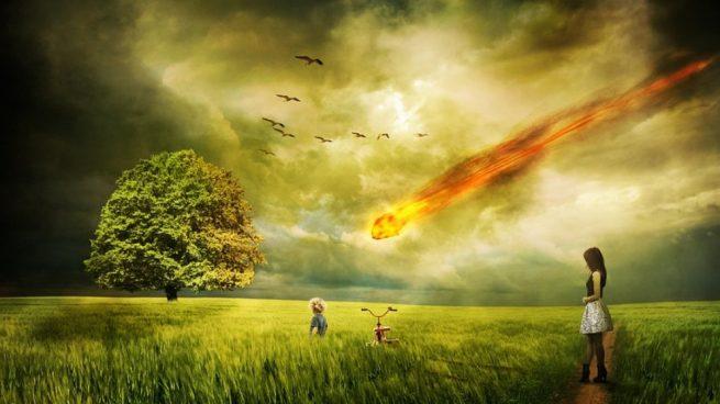 Asteroide ql entero zarpao extermina a la raza humana