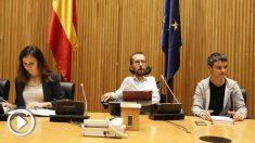 Pablo Echenique secretario de Organización de Podemos. Foto: EP