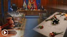 Pleno del Ayuntamiento de El Escorial sobre la exhumación de Franco