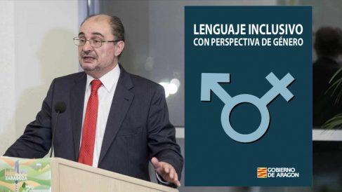 Javier Lambán, Gobierno de Aragón