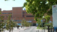 Entrada del Hospital Severo Ochoa. Foto: EP