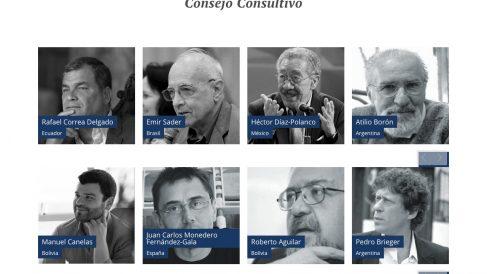 Juan Carlos Monedero, en el consejo consultivo del CELAG.