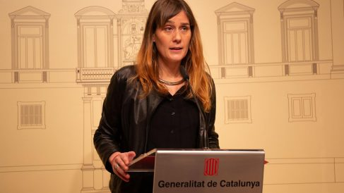 La presidenta de los comunes en el Parlament, Jéssica Albiach (Foto: EP)