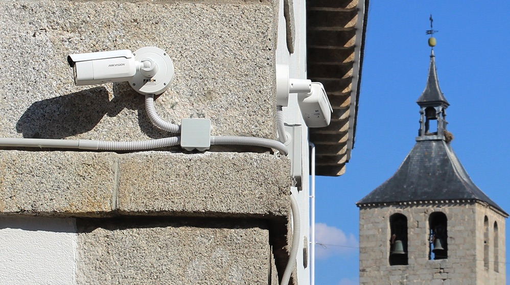 Cámaras de seguridad en Galapagar.