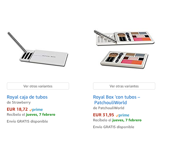 'Royal Box' disponible en Amazon Prime.