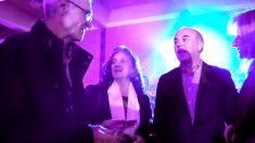 El vicepresidente de JOCS SA, Gilbert Montané, durante la fiesta ofrecida en el hotel Andorra Park para presentar su proyecto de casino.