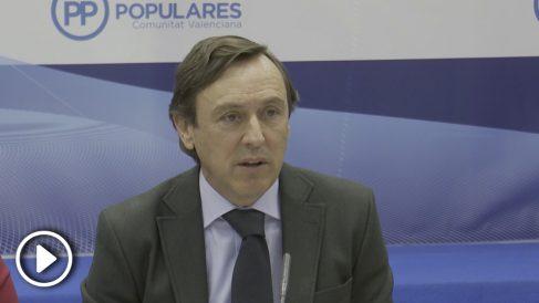 El portavoz adjunto del Grupo Popular en el Congreso, Rafael Hernando.