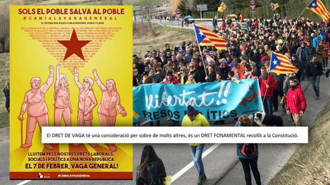 Los CDR apelan a la Constitución que rechazan para agitar la huelga que promueve Puigdemont