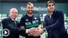 Jesé fue presentado como nuevo jugador del Betis. (EFE)