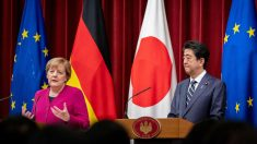 Merkel en Tokyo