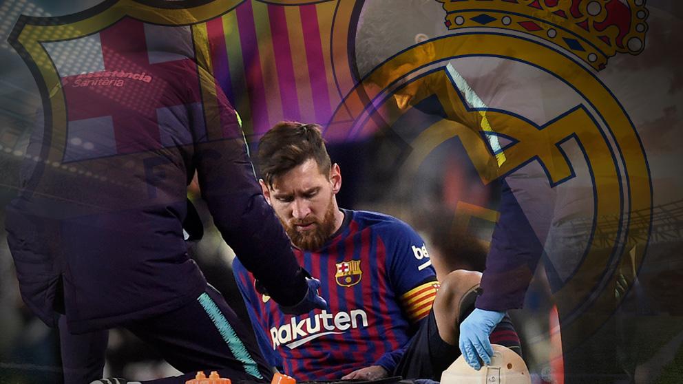 Los médicos del Barcelona recomiendan a Messi no jugar los 90 minutos en el Clásico.