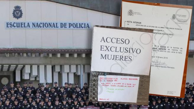 Interior deja a las mujeres de la Escuela de Policía de Ávila un mes sin agua caliente