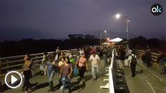 Frontera de Venezuela con Colombia. Cucutá.