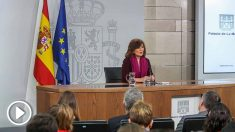 Comparecencia de la vicepresidenta del Gobierno, Carmen Calvo, para explicar la mediación entre España y Cataluña