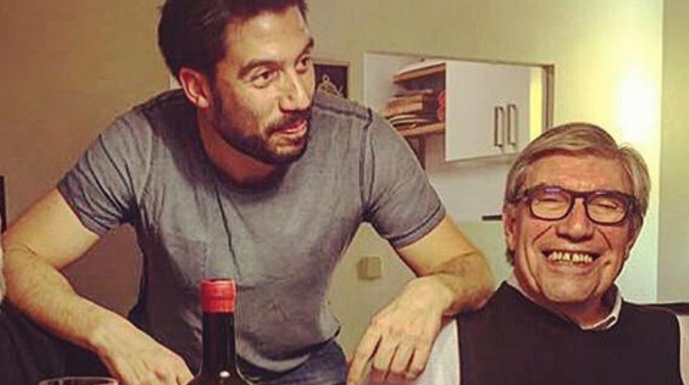 El hijo y el marido de Manuela Carmena. (Foto. Instagram)