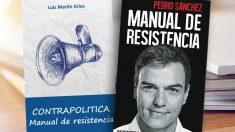 Portada del libro de Pedro Sánchez y de Luis Martín Arias.