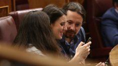 Irene Montero y Pablo Iglesias. Foto: Europa Press