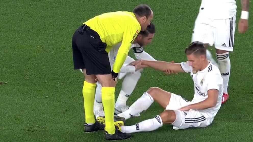 Llorente se duele del muslo en el Barcelona – Real Madrid de la Copa del Rey.