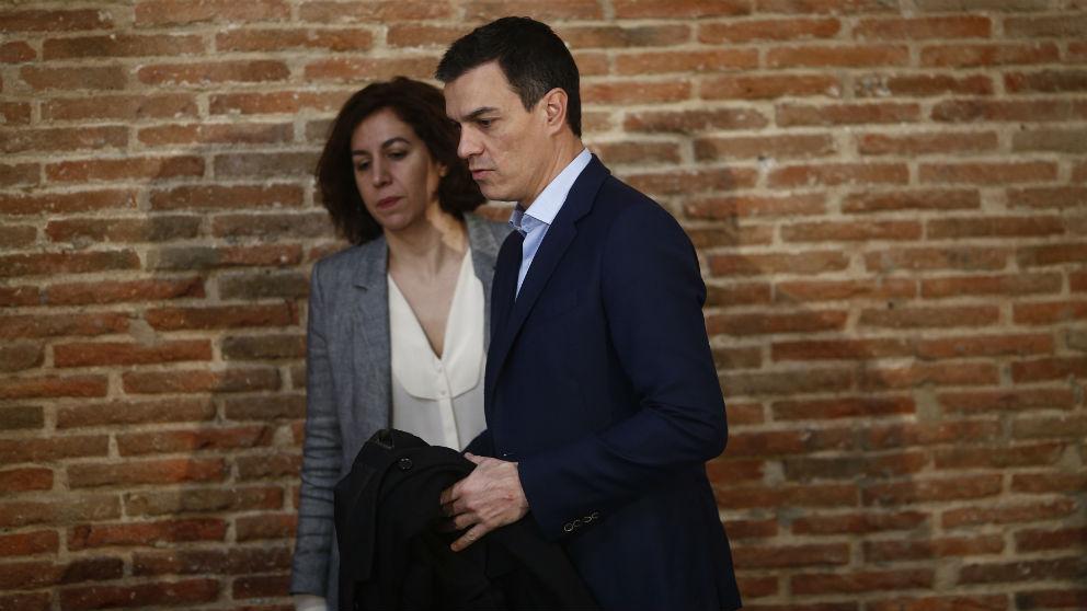 Irene Lozano y Pedro Sánchez. (Foto: EP)