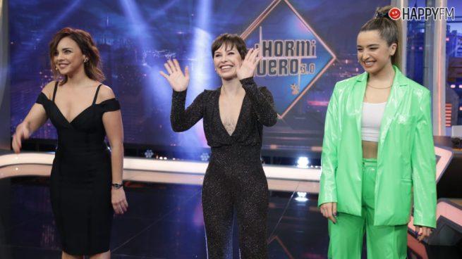 Mimi, Chenoa y Soraya desvelan secretos y sorpresas en 'El Hormiguero'