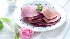 Receta de tortitas de remolacha