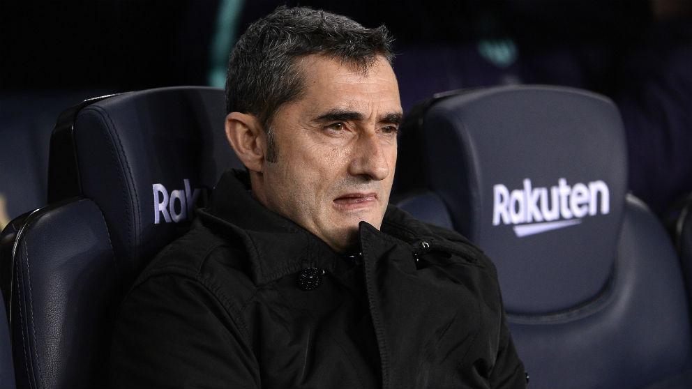 Valverde, en el partido contra el Real Madrid. (AFP)