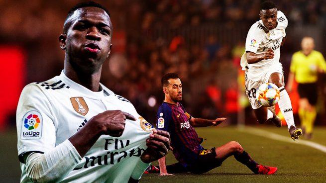 Vinicius Real Madrid-Barcelona