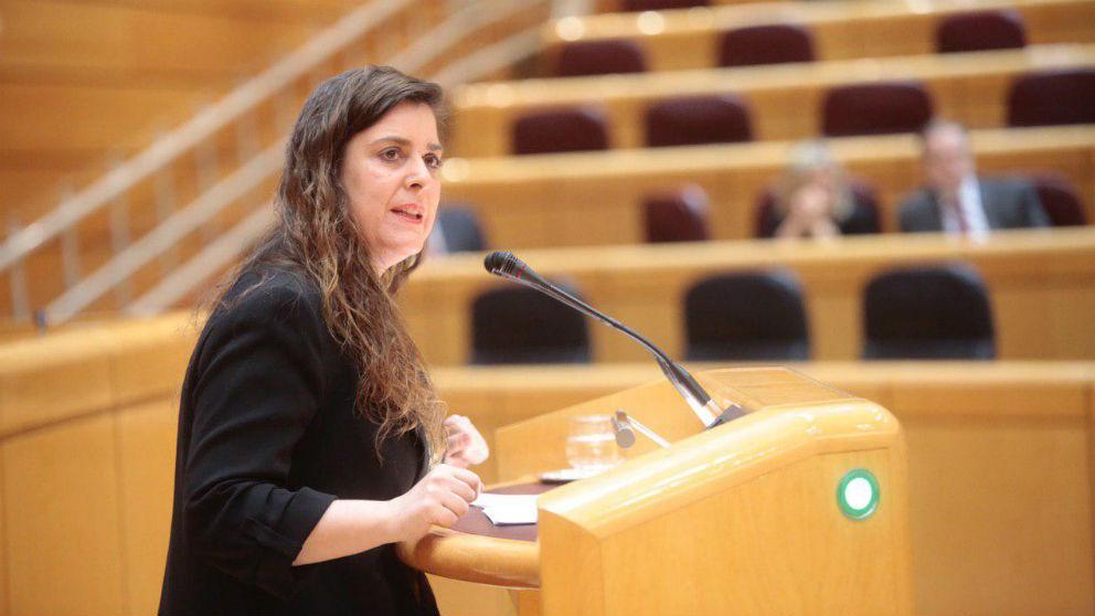 Vanessa Angustia, senadora de Unidos Podemos-En Comú-En Marea. (Foto: @En_Marea)