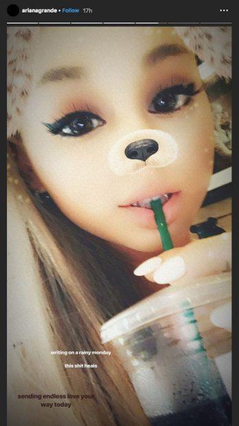 Ariana Grande acaba de publicar un álbum y ya está preparando nueva música