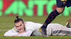 Gareth Bale, durante el partido ante el Barcelona (AFP).