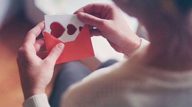 hacer tarjetas San Valentín para felicitar