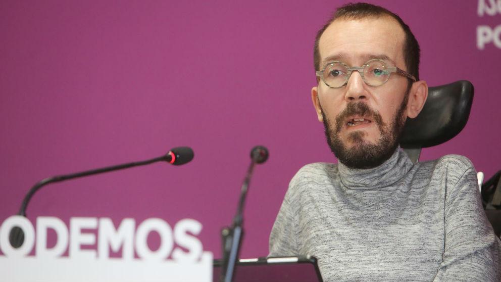 Pablo Echenique. Foto: Europa Press