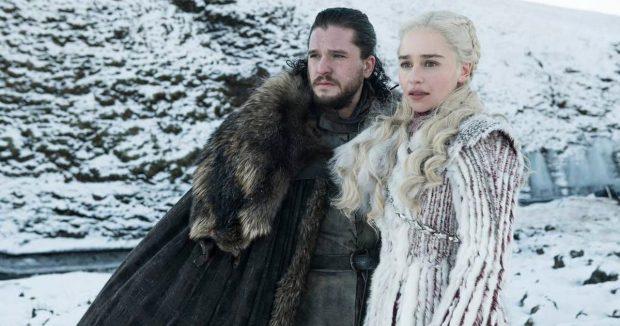 'Juego de Tronos' - Jon Snow y Daenerys Targaryen