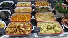 Platos preparados de comida de El Corte Inglés