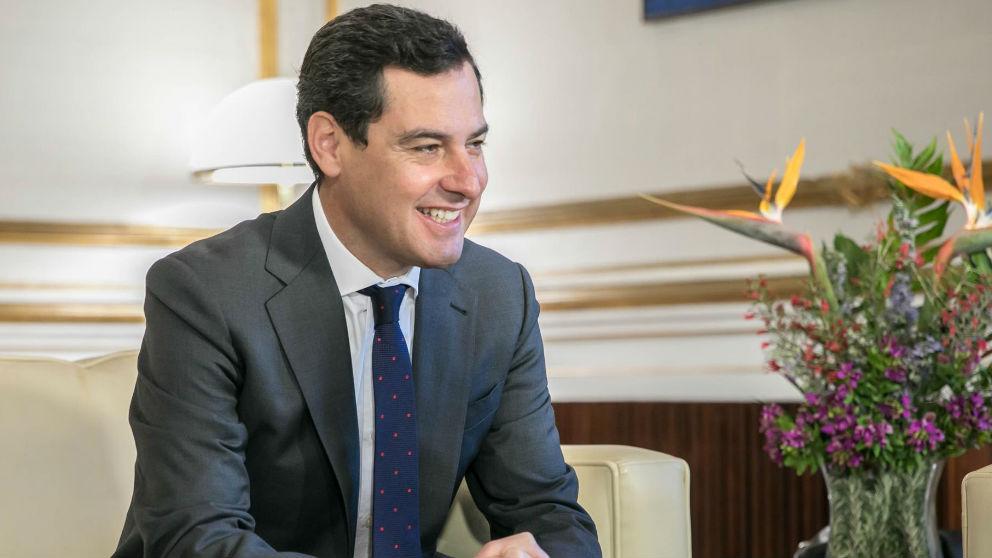 Juanma Moreno en una reciente imagen. (Foto: Europa Press)