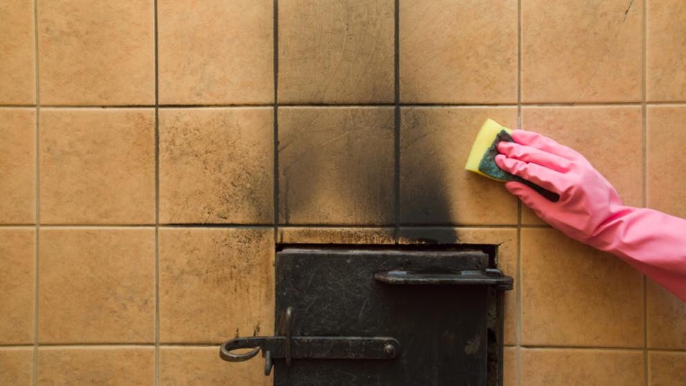 C mo limpiar las manchas de holl n de la pared paso a paso - Como quitar manchas de la pared ...