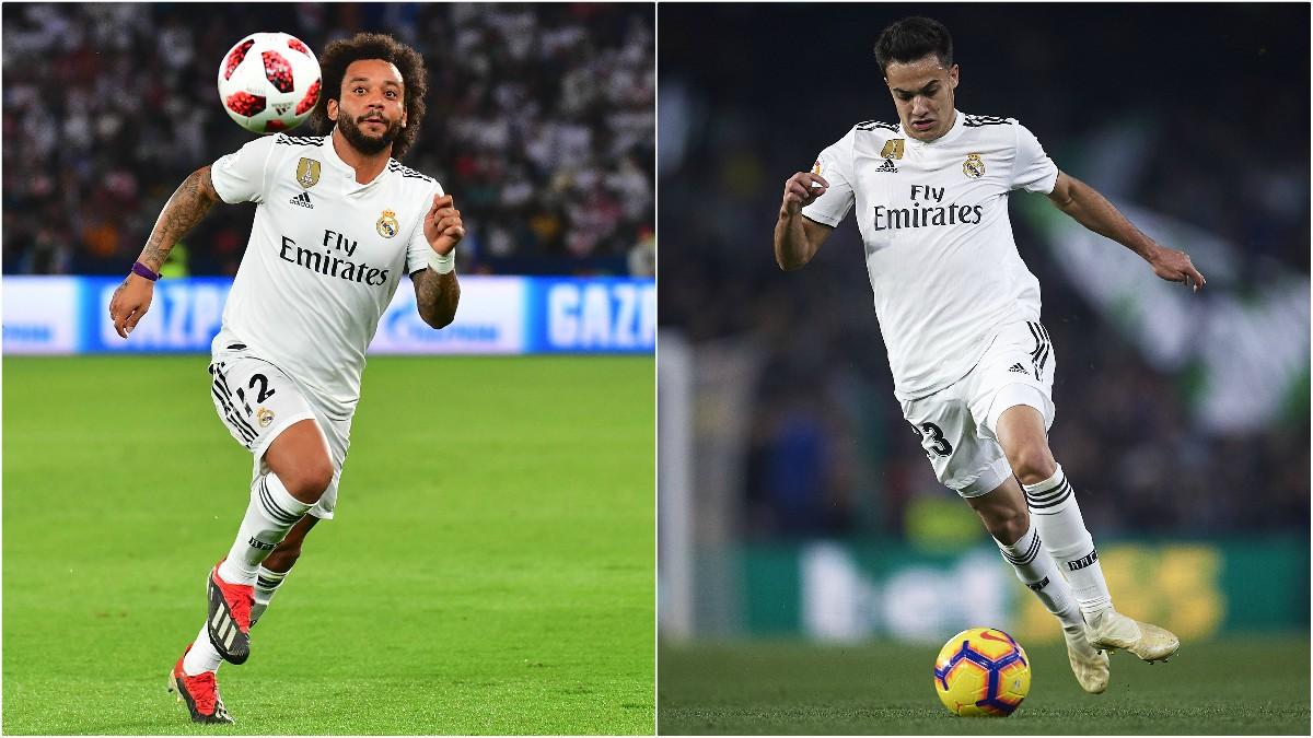 Reguilón mejora los registros defensivos de Marcelo esta temporada.