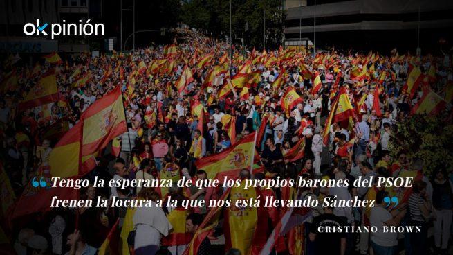 Es la hora de la rebelión socialista contra Sánchez